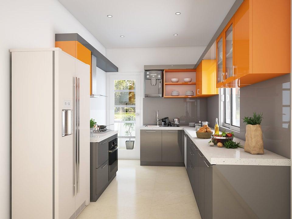 parallel kitchen design. 11 X7  Phoenix Parallel Kitchen 9 Paradise Houzlook