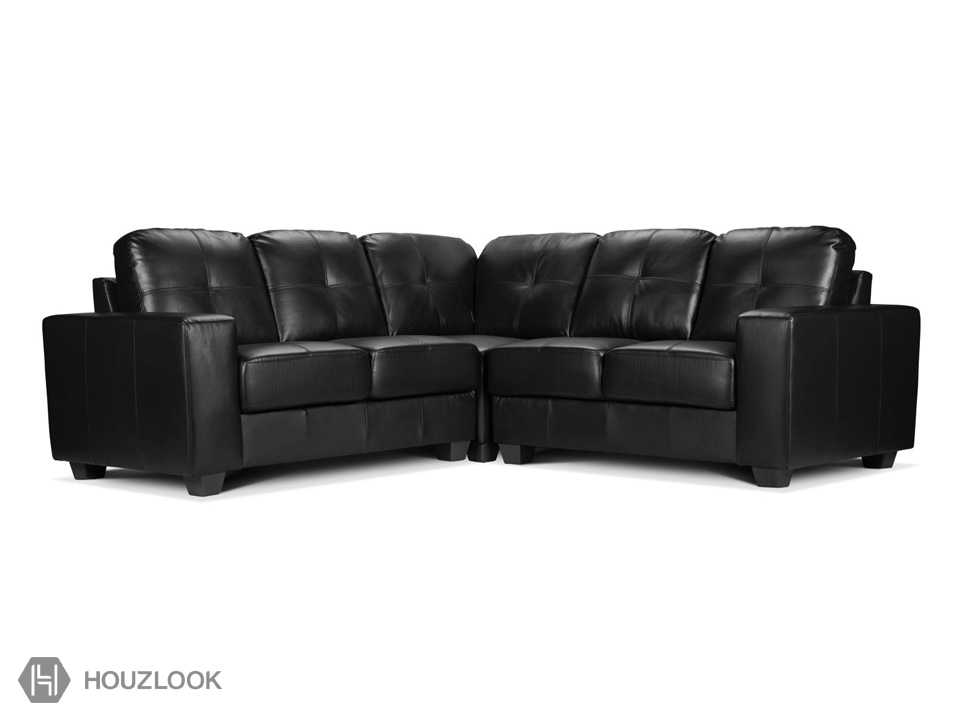 Blackwich 5 Seater Leather Sofa